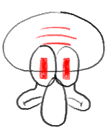 Step 6 - How to Draw Squidward Tentacles from Spongebob Squarepants