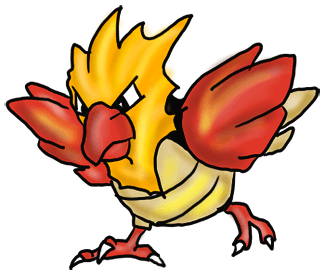 Step by Step Drawing Lesson : How to Draw Spearow from Pokemon for Kids