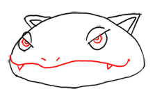 Step 4 Step by Step Drawing Lesson : How to Draw Venusaur from Pokemon for Kids
