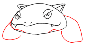 Step 5 - Step by Step Drawing Lesson : How to Draw Venusaur from Pokemon for Kids