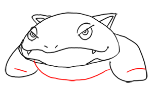 Step 6 - Step by Step Drawing Lesson : How to Draw Venusaur from Pokemon for Kids