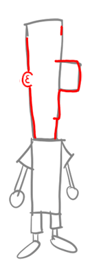 Step 2 How to Draw Ferb from Phineas and Ferb for Kids : Step by Step Drawing Lesson