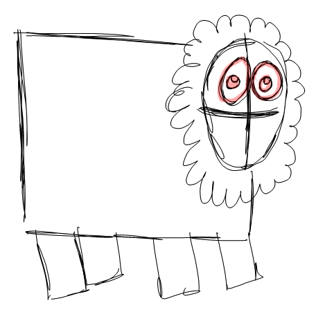 Step 3 How to Draw Cartoon Sheep / Lambs Step by Step Drawing Lessons