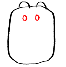 Step 3 How to Draw Wubbzy from Wow Wow Wubbzy Step by Step Drawing Tutorial for Preschoolers