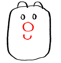 Step 4 How to Draw Wubbzy from Wow Wow Wubbzy Step by Step Drawing Tutorial for Preschoolers