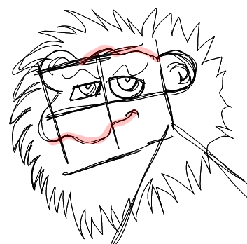 Step 6 How to Draw Cartoon Lions Step by Step Drawing Tutorials