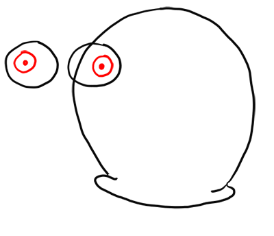 Step 3 How to Draw Gary Snail from Spongebob Squarepants Step by Step Drawing Tutorials