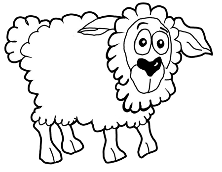 How to Draw Cartoon Sheep / Lambs Step by Step Drawing Lessons