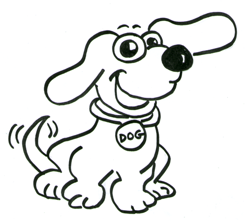 How To Draw Cartoon Dogs Step By Step Drawing Tutorial For