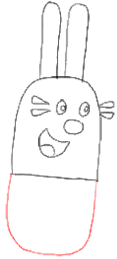 How to Draw Widget from Wow Wow Wubbzy Step by Step Drawing Tutorial for Preschoolers