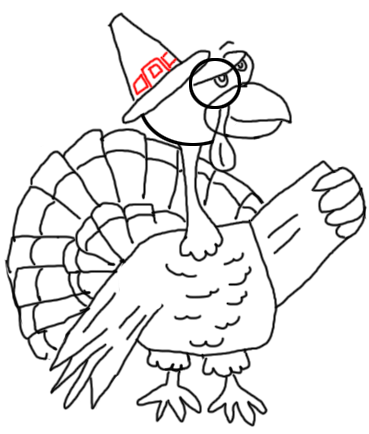 Stewp 16 How to Draw Turkeys for Thanksgiving and Farm  Animals Step by Step Drawing Tutorial for Kids, Teens, and Adults