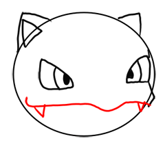 Step 5 How to Draw Ivysaur from Pokemon for Kids : Step by Step Drawing Lesson
