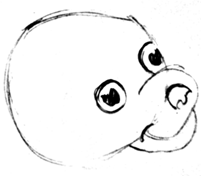 Step 5 How to Draw Cartoon Dogs Step by Step Drawing Lessons for Kids