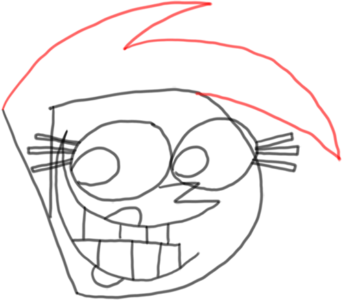 Step 8 How to Draw Vicky from Fairly Odd Parents : Step by Step Drawing Tutorial