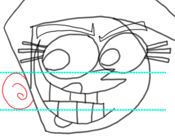 Step 10 How to Draw Vicky from Fairly Odd Parents : Step by Step Drawing Tutorial