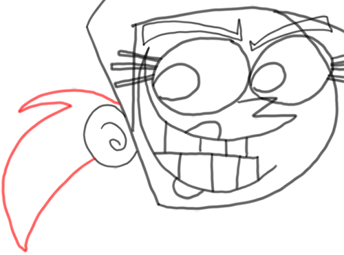 Step 11 How to Draw Vicky from Fairly Odd Parents : Step by Step Drawing Tutorial