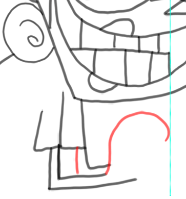 Step 14 How to Draw Vicky from Fairly Odd Parents : Step by Step Drawing Tutorial