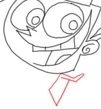Step 15 How to Draw Timmy Turner from Fairly Odd Parents : Step by Step Drawing Lesson