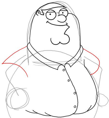 How To Draw Peter Griffin - June 2013 - Drawing for Children - MTM