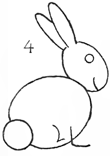 How to Draw Bunnies with Easy Bunny Rabbits Drawing Lesson - How ...