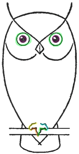 How to Draw Owl...