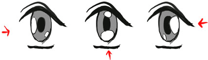Instructions From The Female Eyes Drawing Tutorial Samples
