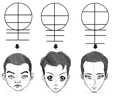 Step 17 the great thing about the anime face drawing