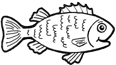 How to draw a puffer fish for kids - photo#26