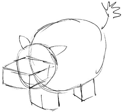 How to Draw Cartoon Hippos (Hippopotamus) with Easy Step ...  How to Draw Car...