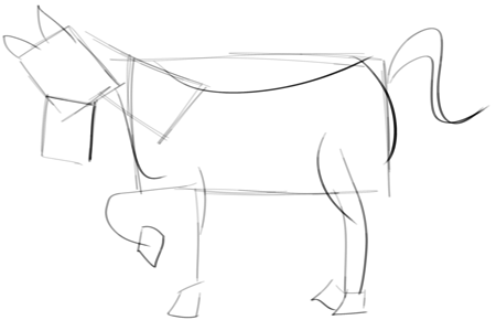 Easy Horse Head Drawing For Kids 56053 Loadtve