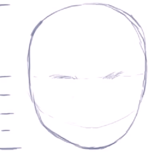 Line Drawing Baby Face : How to draw a baby s face head with step by drawing