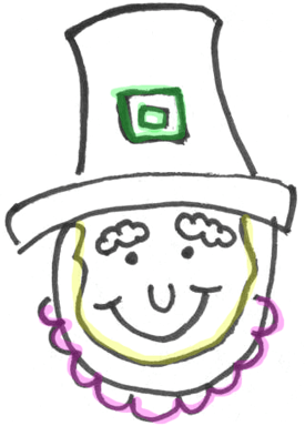 How to draw leprechauns with easy step by step drawing lesson for draw ccuart Choice Image