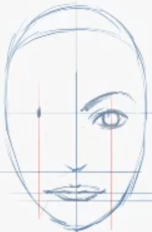 how to draw anime eyes female step by. Now draw the eyes.