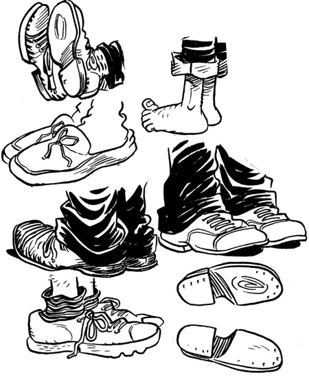 How to Draw Cartoon Feet & Shoes When Drawing Comics Cartooning ...
