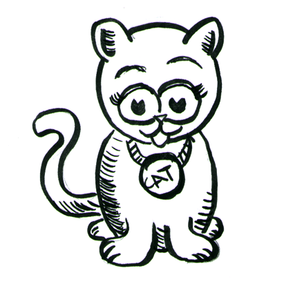 How To Draw Cartoon Kittens Cats With Step By Step Drawing