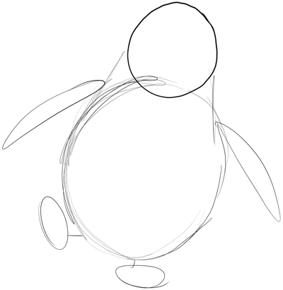 how to draw penguins of madagascar