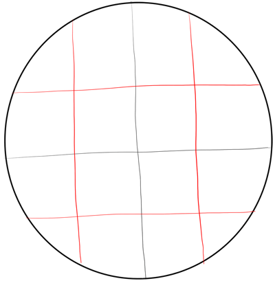 how to make a half filled circle in powerpoint