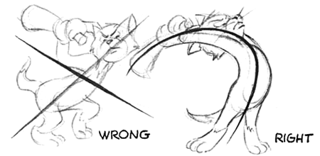 how to draw motion lines