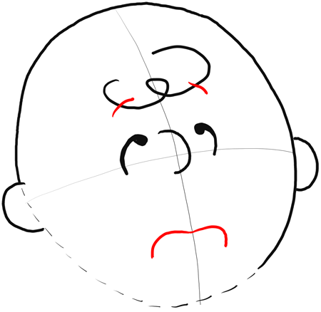 How To Draw Charlie Brown Step By Step Pictures