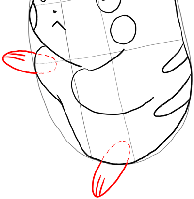 How to Draw Pikachu Attacking in Battle Pokemon Drawing Step by