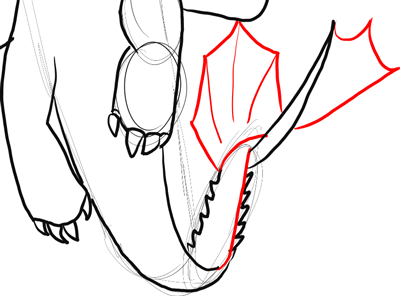 How to Draw Toothless Night Fury Dragon from How to Train ...