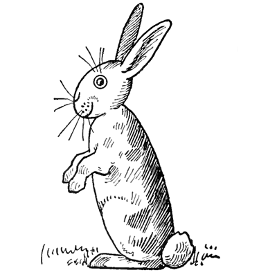 how to draw bunny rabbits for easter with easy step by step drawing lesson