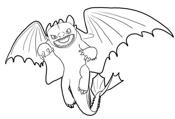 how to train your dragon white dragon