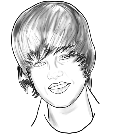 You love Justin Bieber and you want to doodle his face all over your school