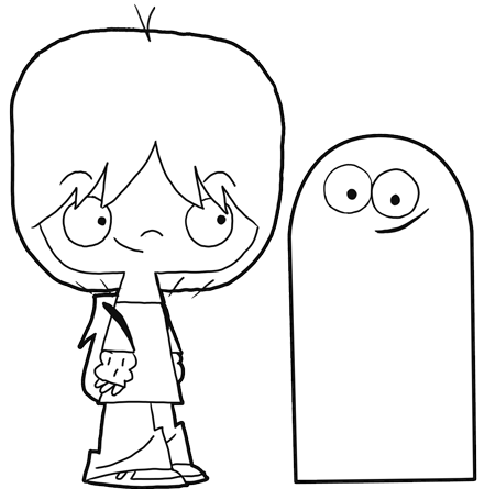 fosters home for imaginary friends bloo and mac