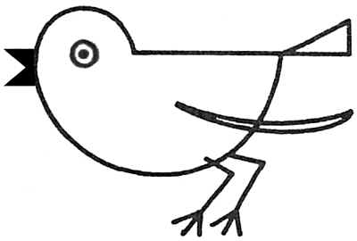 Drawing A Bird Robin With Simple Shapes For Preschoolers Toddlers