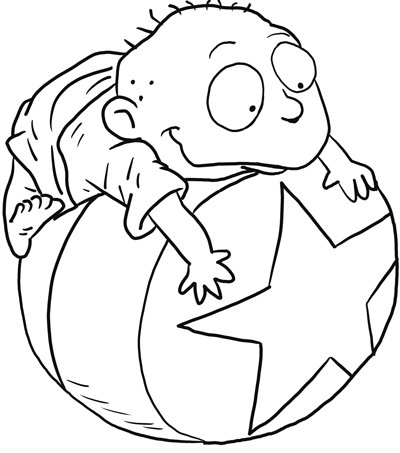 How to Draw Tommy from The Rugrats with Easy Step by Step