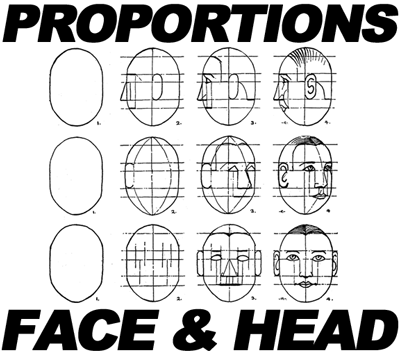 Drawing Faces Head In Eyes Nose Mouth Ears Brows Proportions