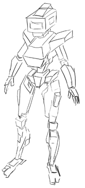 How To Draw Manga Anime Robots Step By Step How To Draw Step By