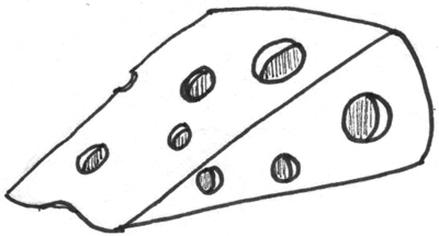 Step 5 How To Draw Cheese With Easy Step By Step Drawing
